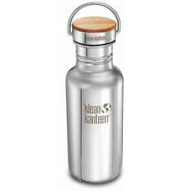 Klean Kanteen Reflect Bottle Bamboo Cap 532ml silver